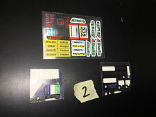 Transformers Master Piece MP G1 some Unused Sticker Sheets LOT #2 wheeljack jack