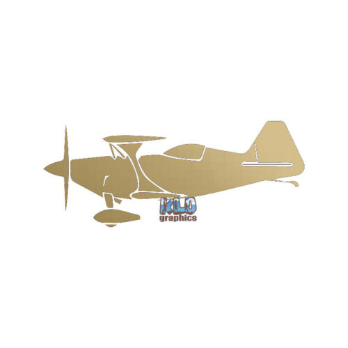PITTS CHALLENGER PILOT Sticker Decal Aerobatic Airplane Aviation Racing