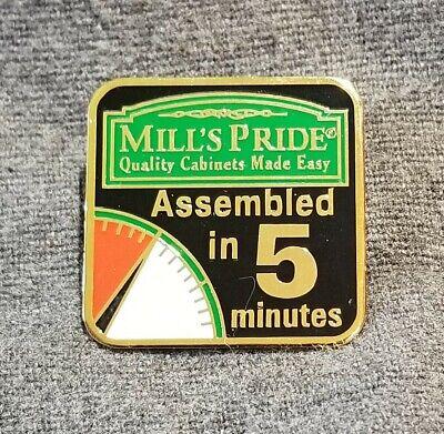 LMH PINBACK Pin MILL's PRIDE Mills Closet Storage Cabinet ...