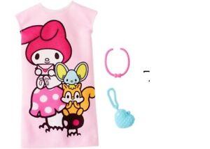 424bdfd27 Barbie Doll Hello Kitty Fashion Pack MY MELODY PINK DRESS & PURSE ...
