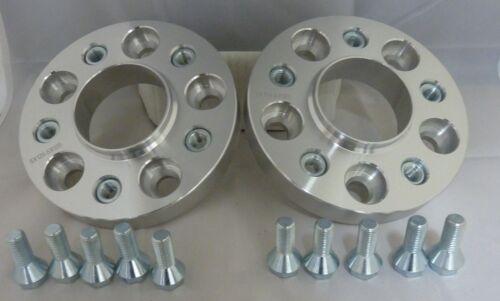 5x120 20 mm Aleación Rueda Espaciadores Hubcentric para adaptarse a Bmw serie 6 F12 F13