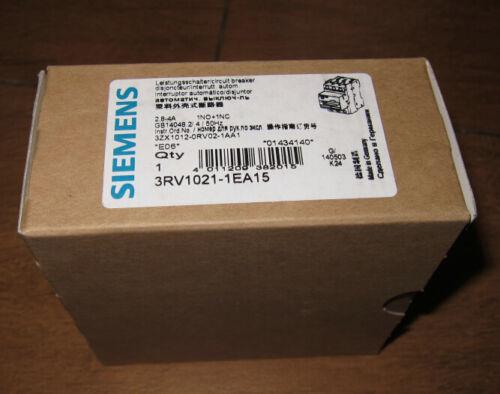 1PCS NEW Siemens Motor protection circuit breaker 3RV1021-1EA15