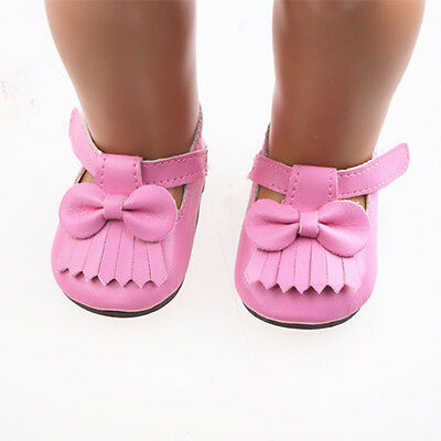 New hot sell fashion shoes for 18inch American girl doll party b670