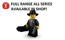 Lego minifigures gangster series 5 (8805) unopened new factory sealed