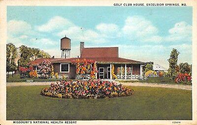 Excelsior Springs Missouri Vintage Postcards & Images