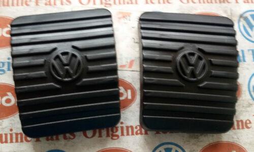 VW MAGGIOLINO BEETLE COX T3 KARMANN GOMMINI PEDALI PEDAL RUBBER PAD PEDALE