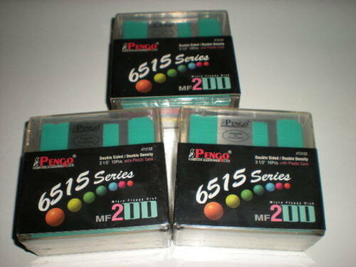 Double sided double density. 30 DS DD DSDD 3.5 in floppy disks