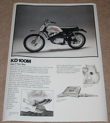 1976 KAWASAKI KZ900 VINTAGE MOTORCYCLE POSTER PRINT 36x26