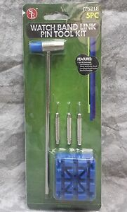 SE-5-Piece-Watch-Band-Repair-Link-Pin-Tool-Kit-JT6218-NEW