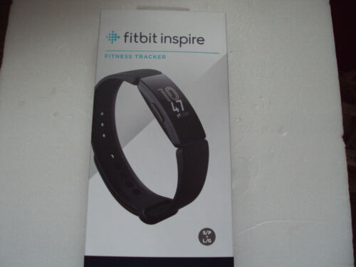 S /& L Bands Included Fitbit Inspire Fitness Tracker One Size new in box