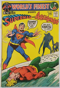 Worlds-Finest-Comics-203-VF-Neal-Adams-Cover-Superman-Batman-1971-Bronze-Age