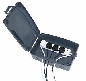 Outdoor Waterproof Masterplug Electrical Connection Box