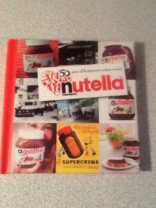 collector-livre-NUTELLA-50-histoires-entre-nous-FERRERO-port-offert
