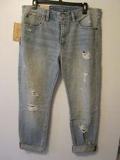 $125  Denim & Supply Ralph Lauren Boyfriend Distressed Jeans Sz 29 x 32 NWT