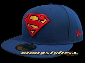 SUPERMAN-NEW-ERA-DC-COMIC-ART-BASIC-Badge-Official-CAP-MARVEL-SUPERHEROES-CAPS