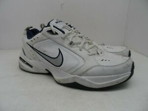 cff22c72493c0c Nike Men s Air Monarch IV Athletic Training Shoe White Navy Size 13M ...