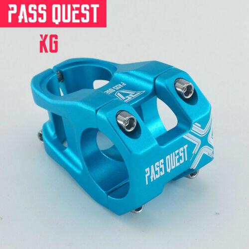 PASS QUEST Bicycle stem Ultralight 0 degree 40//45MM Mountain Bike Stem MTB Stems