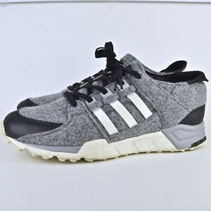 Details about Adidas Equipment EQT Mens Size 11 Wool GrayBlack Running Sneakers Shoes