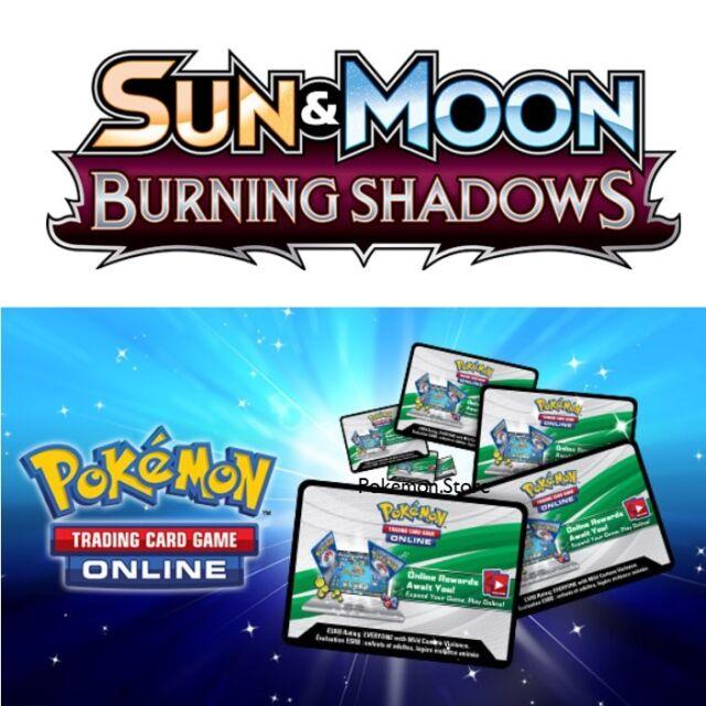 Pokemon Online TCGO Sun & Moon XY Booster Codes FASTEST! RANDOM BOOSTER MIX Verzamelingen