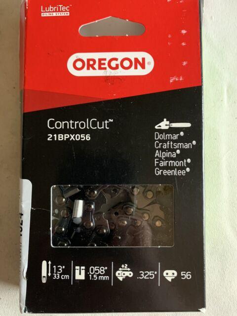 "Oregon 21BPX056 .325/"" Pitch .058/"" Gauge 56 Drive Link Micro Chisel Saw Chain"