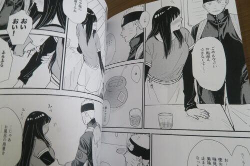 Honey and secret blink shimoyake B5 24pages NARUTO doujinshi Naruto X Hinata