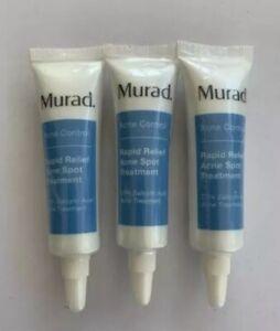 3-x-MURAD-ACNE-CONTROL-RAPID-RELIEF-ACNE-SPOT-TREATMENT-Total-75-oz-Exp-12-20