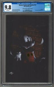 Disney Comics and Stories #13 Gabriele Dell'Otto CGC 9.8 GOLD FOIL COA SOLD OUT