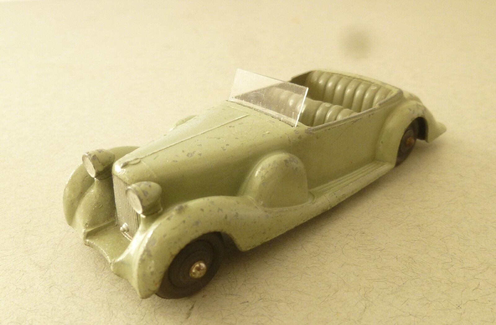 Dinky Toys Early Version of the Lagonda Open Tourer Sports Car 1940's Dinky Toys