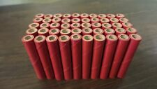 "New 50 Firework Craft Tubes 2"" x 1/4"" x 1/16"" Red Bottle Rocket Shells FREE SHIP"