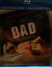 BAD TEACHER (2011) Blu-ray Unrated Edition Two-Disc Set Cameron Diaz Jason Segel