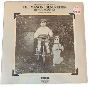 Henry-Mancini-The-Mancini-Generation-1972-Vinyl-LP-LSP-4689-SEALED