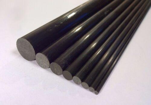 10x 3mm 800mm OD X pultruded aste in fibra di carbonio R3