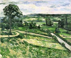 The-Tree-by-the-Bend-by-Paul-Cezanne-Giclee-Repro-on-Canvas