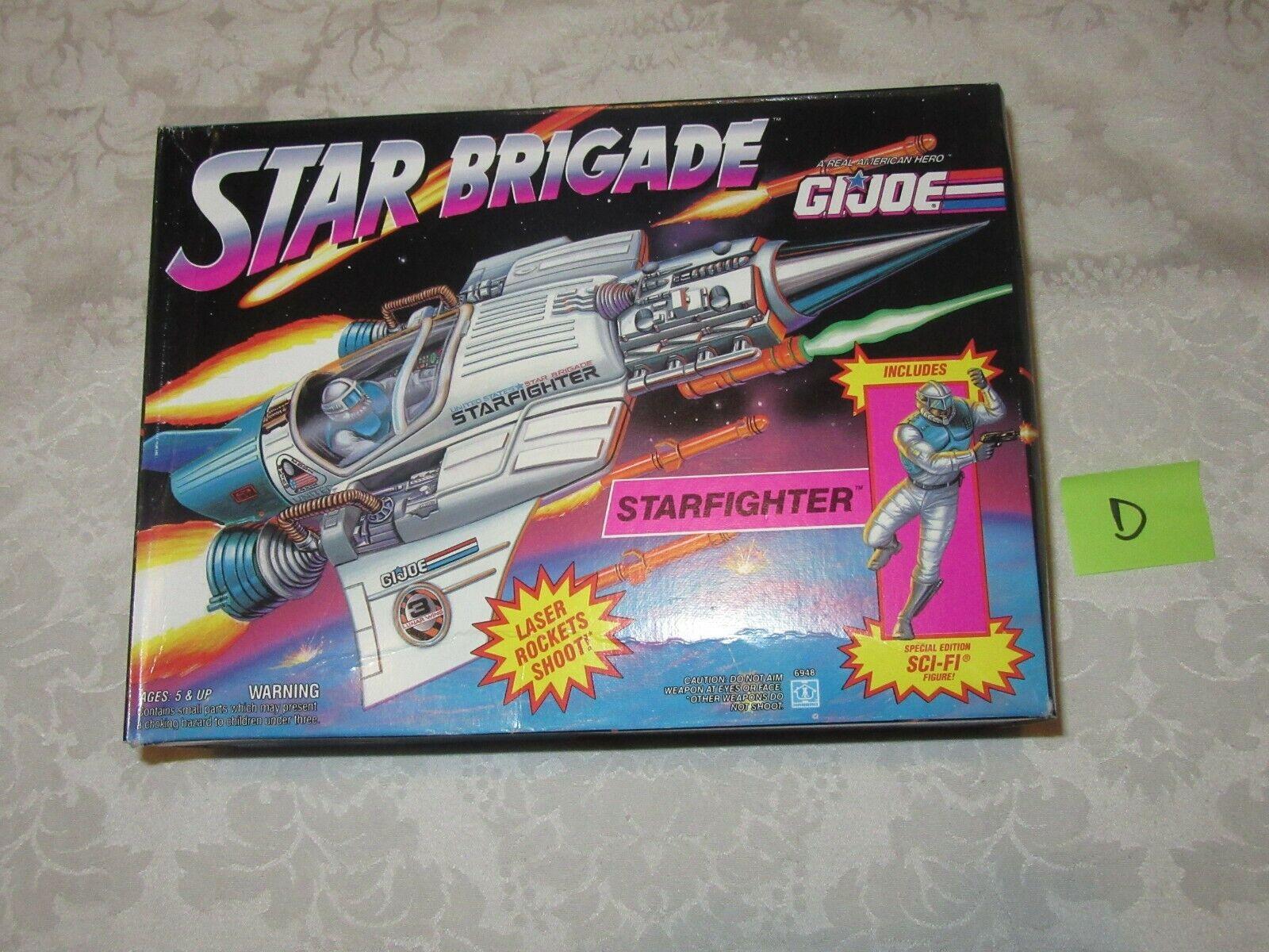 Hasbro G.I. GI Joe estrella Brigade estrellacombatiente specialee edizione SciFi D cifra