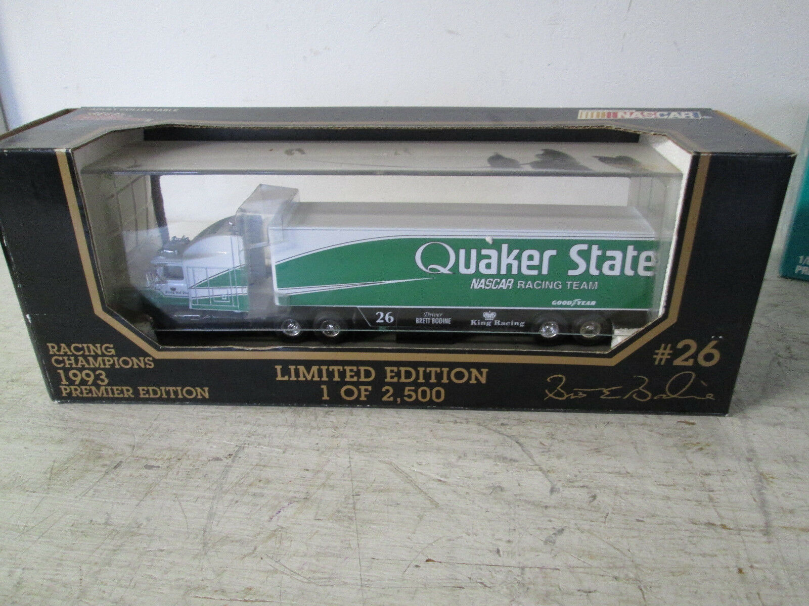 Racing Champions 1 64 Die-Cast Die-Cast Die-Cast Semi Tractor Trailer, 1993 Quaker State Limited 1c99e1