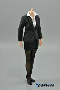 ZY-TOYS-1-6-Female-Business-Office-Pencil-Skirt-Suit-Clothes-Set-Fit-12-034-Figure