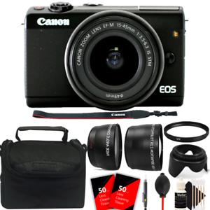 Camara-digital-Canon-EOS-M10-sin-espejo-con-lente-de-15-45mm-Con-Kit-De-Accesorios