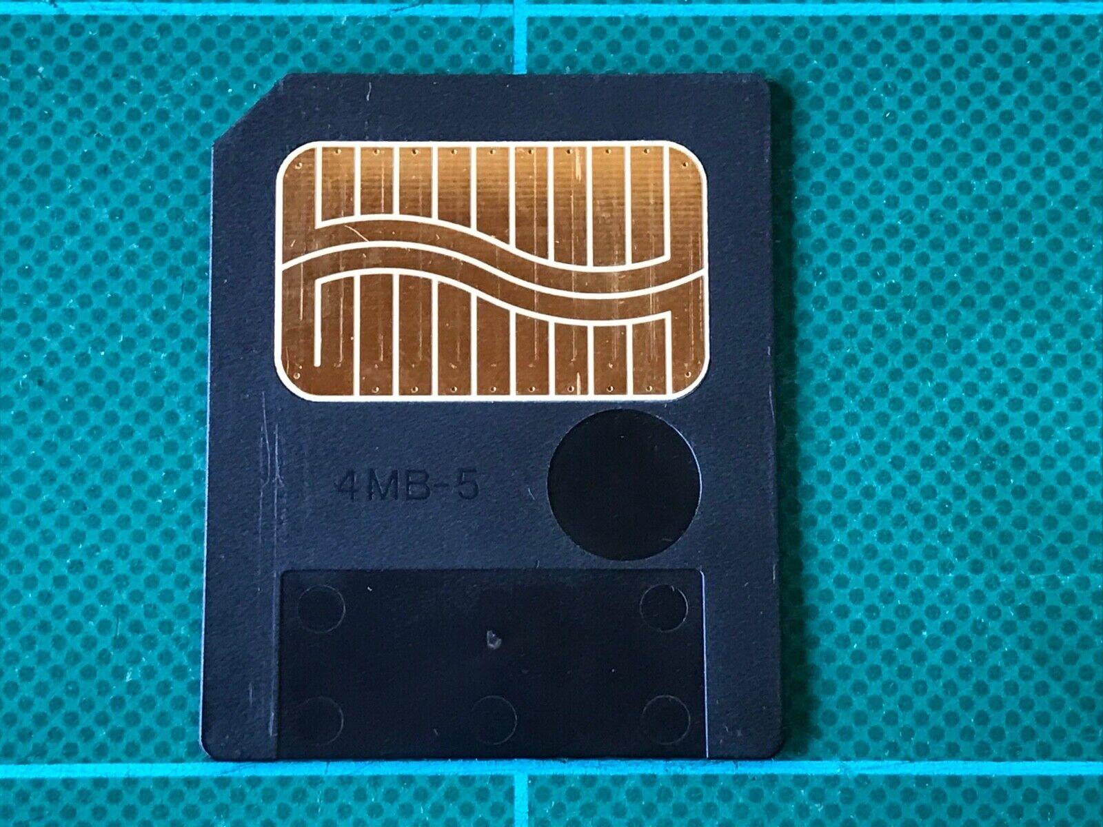 Roland S4M-5 4MB Smart Media Card 5V SP202 MC505 JX305 JP8080 Free shipping