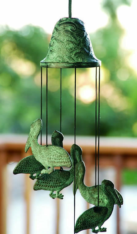 Pelican Wind Chime by SPI Home San Pacific International 30488