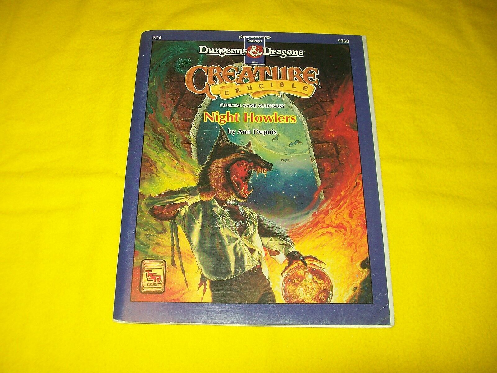 PC4 NIGHT HOWLERS DUNGEONS & DRAGONS CHALLENGER SERIES CREATURE CRUCIBLE 9368 -1