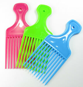 Set-of-three-combs-Wide-tooth-Afro-Comb-Wide-Teeth-pocket-Hair-Wig-Detangler
