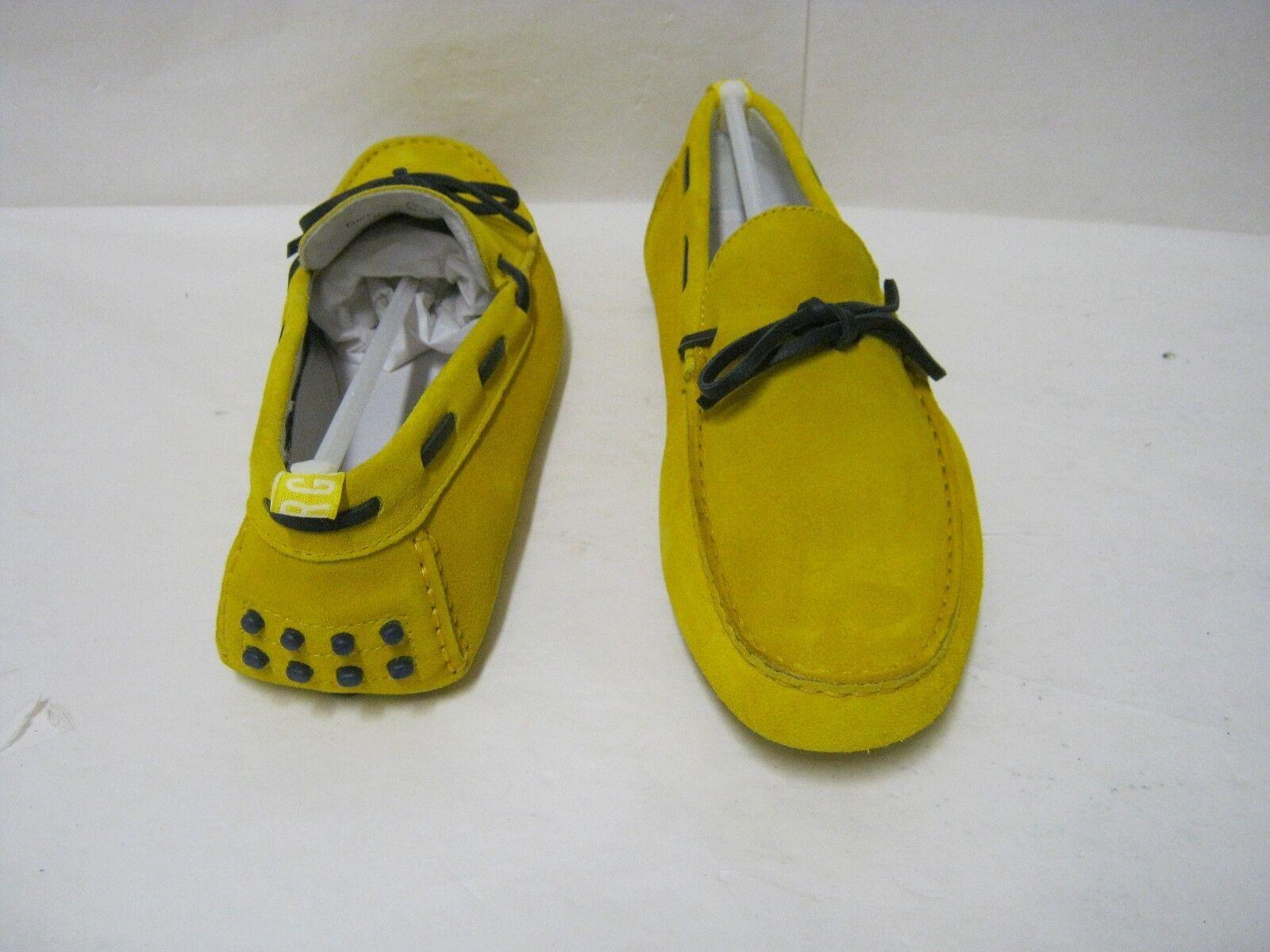 Mocassini pelle uomo BIKKEMBERGS in pelle Mocassini camoscio colore giallo N°45 ec169c