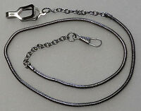 Whistle Chain Silver-tone With Epaulet Clasp--uniform