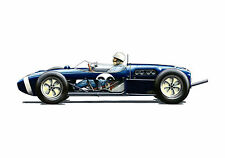 Stirling Moss, 1961 Monaco Grand Prix Winner POSTER PRINT A1 Size
