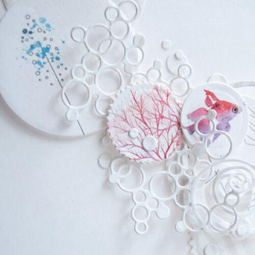 Circle Metal Cutting Dies Stencil for DIY Scrapbooking Craft Paper Card Dec9H