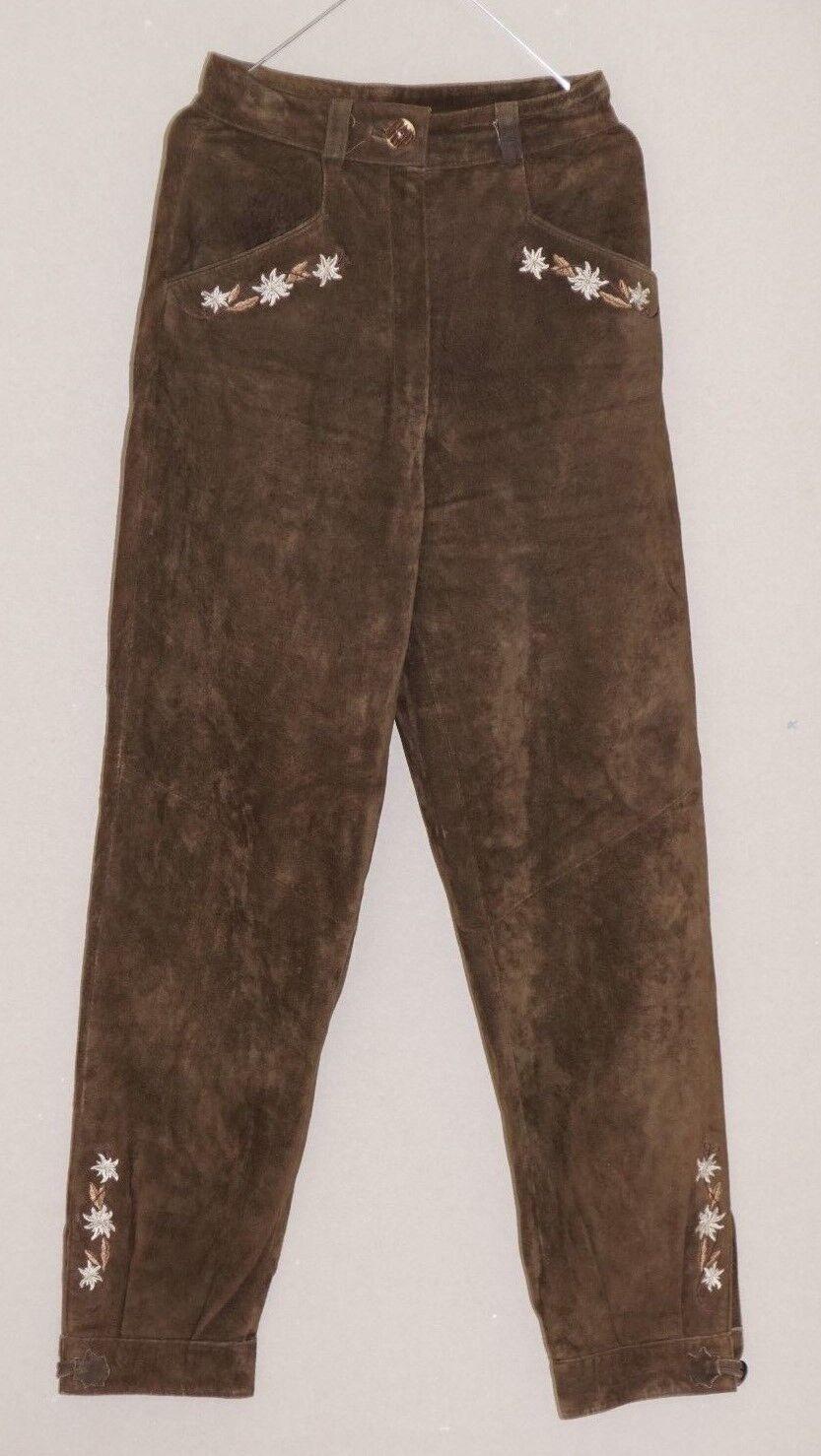 Trachtenhose Tracht Lederhose Damen braun Edelweiß Größe 34 (1702L-OH3 (1702L-OH3 (1702L-OH3 )    New Product 2019    Meistverkaufte weltweit    Angenehmes Aussehen  a341f4