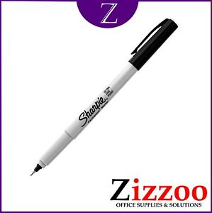 SHARPIE DUAL TWIN TIP MARKER PENS BLACK IN VARIOUS QUANTITIES  FREE POSTAGE!
