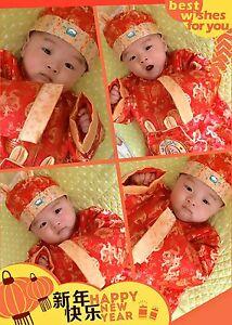 5ed0f7fe1 Chinese New Year 2016 Baby Boy Girl Shirt Newborn Chinese Top Hat ...
