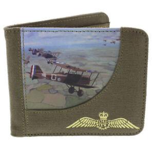 Mens/' plane canvas wallet