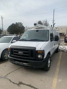 2011 FORD E250 CONTRACTOR CARGO VAN ONLY $8495 FULLY CERTIFIED!